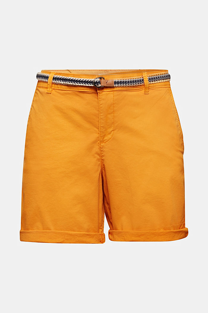 Stretch shorts with Lycra xtra life™, ORANGE, detail image number 4
