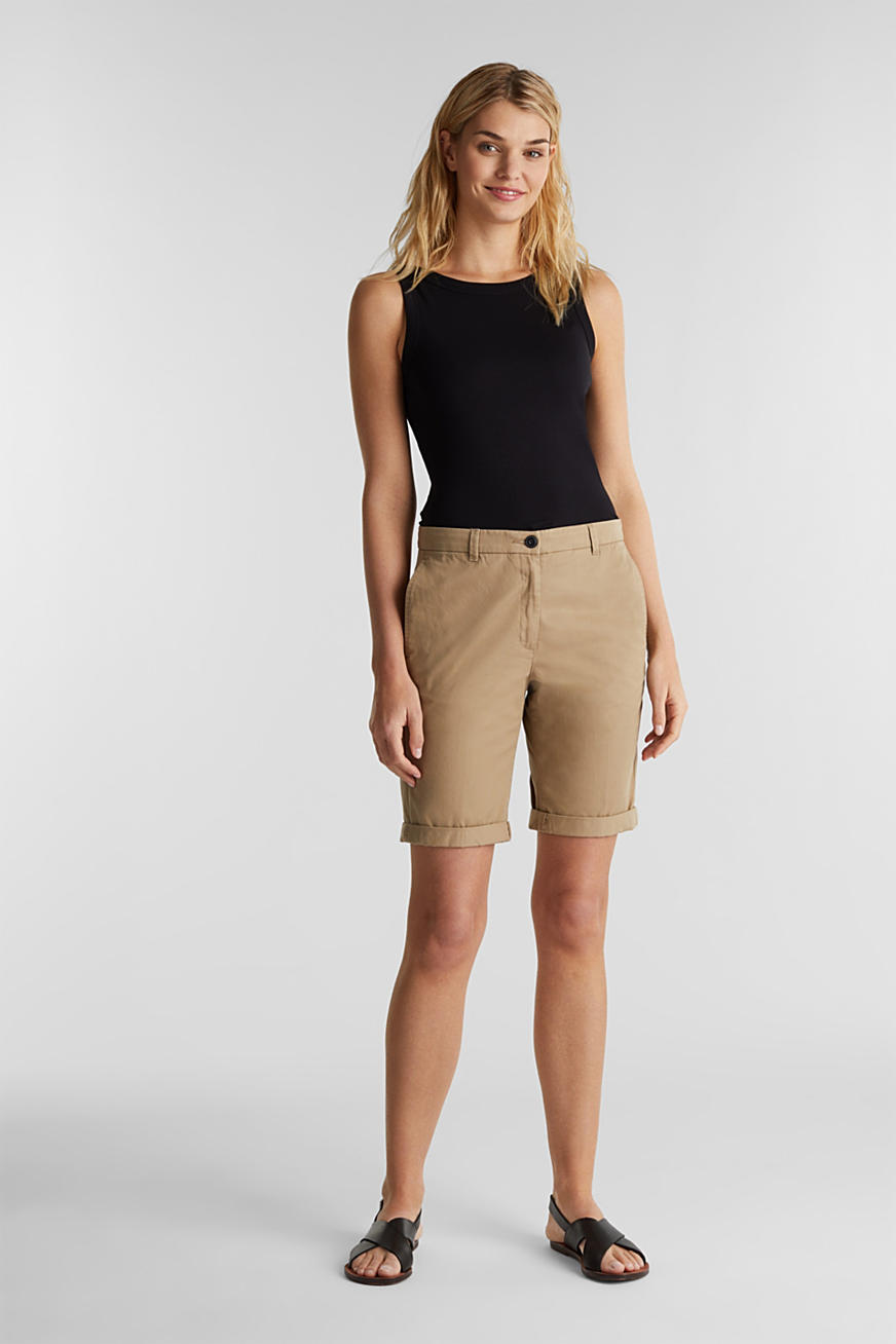 Basic Bermudas made of 100% cotton