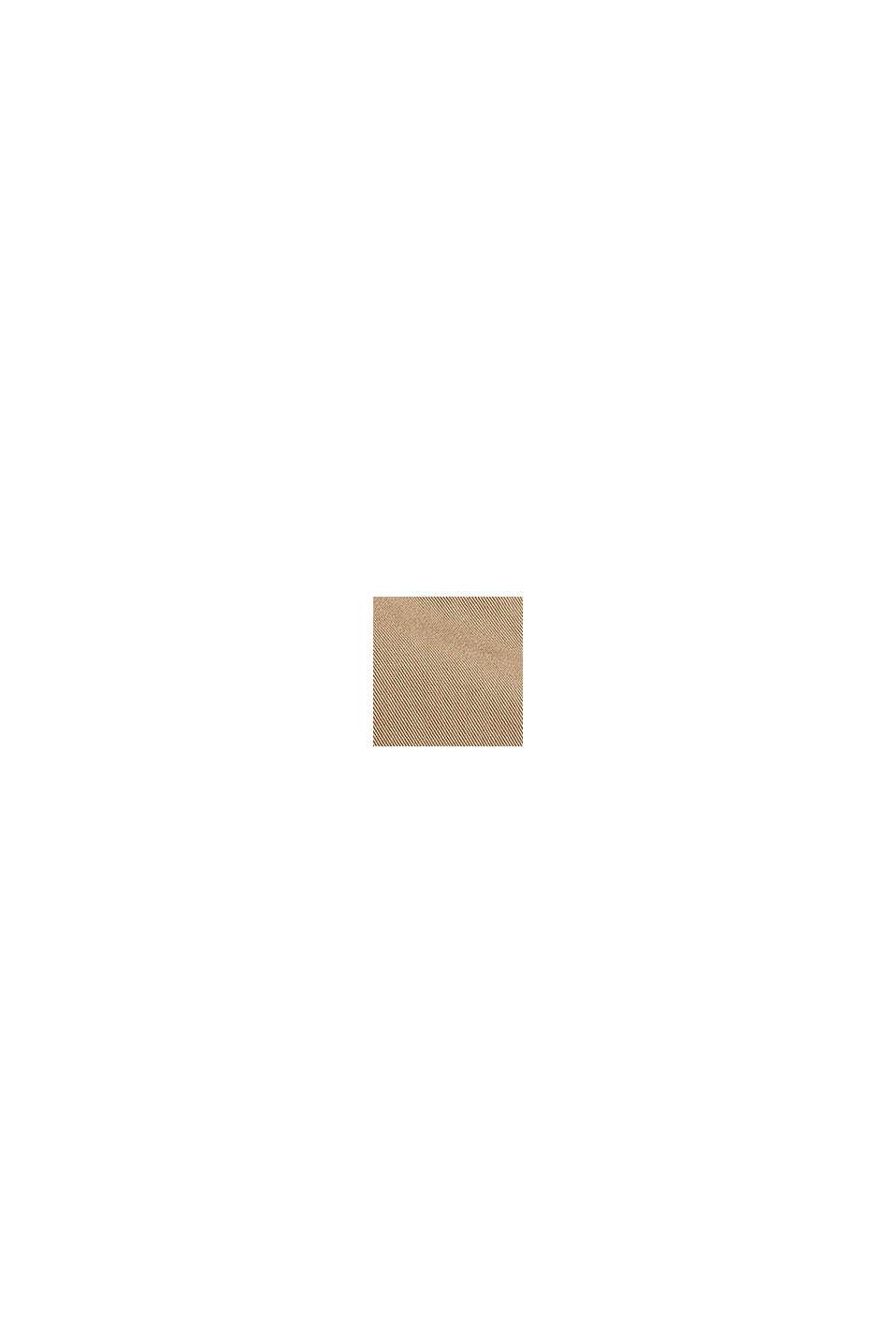 Basic-bermudashorts i 100% bomuld, BEIGE, swatch