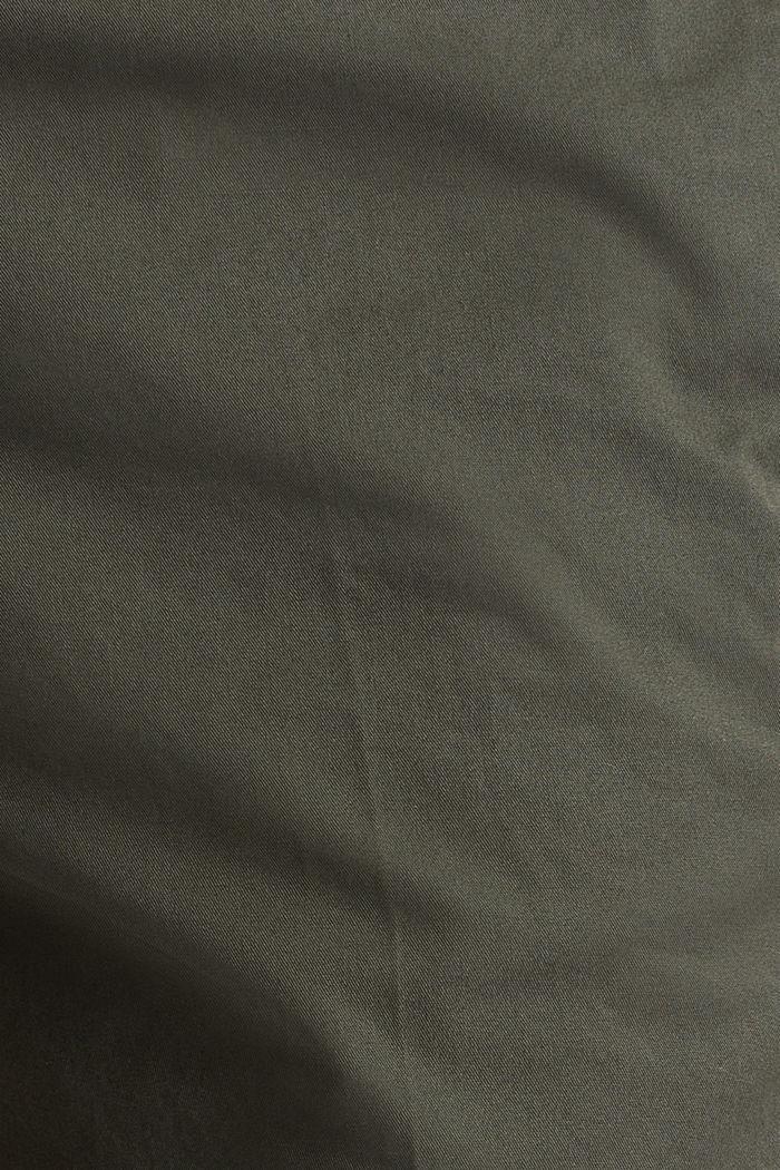 Basic Bermudas made of 100% cotton, KHAKI GREEN, detail image number 3