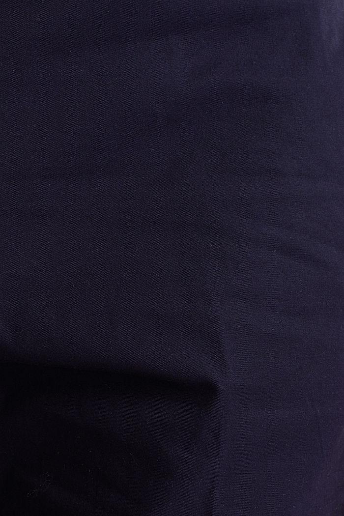 Basic bermuda van 100% katoen, NAVY, detail image number 3