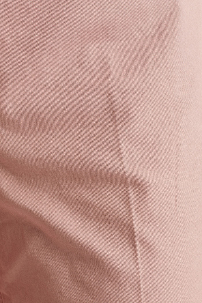 Basic Bermudas made of 100% cotton, OLD PINK, detail image number 4