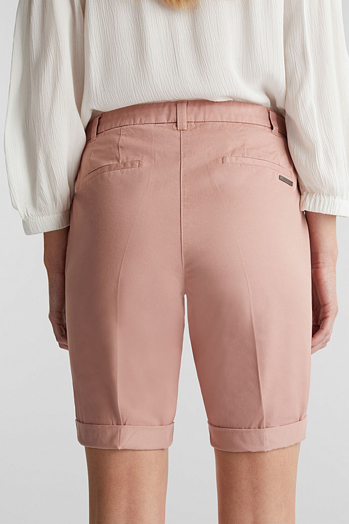 Basic Bermudas made of 100% cotton, OLD PINK, detail image number 5