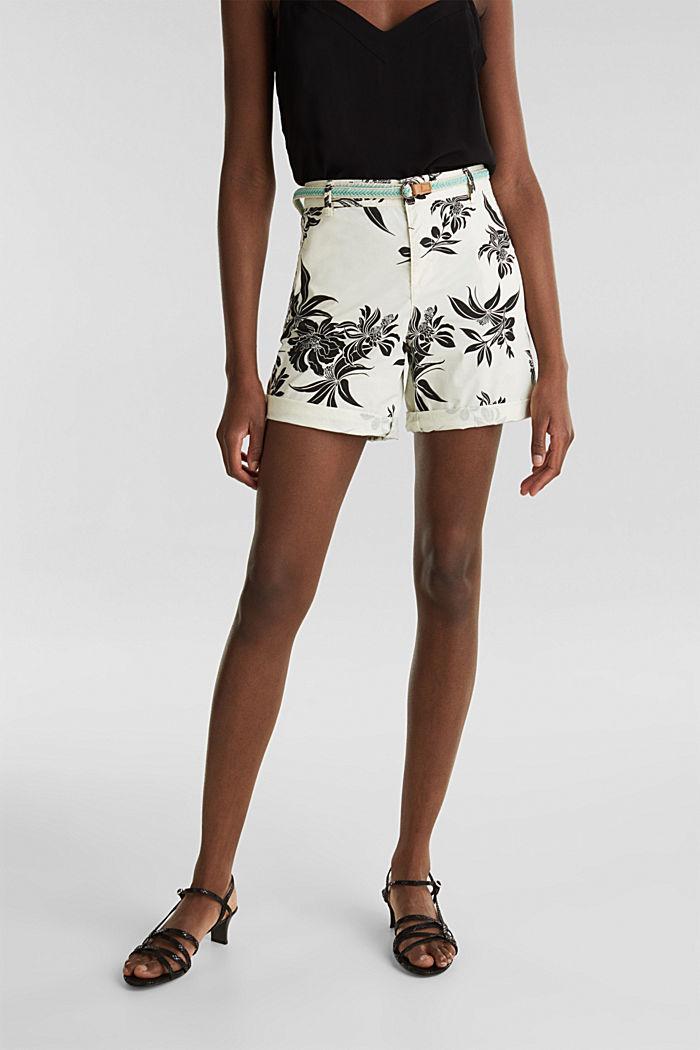 Chino-Shorts mit Lycra xtra life™, WHITE, detail image number 6