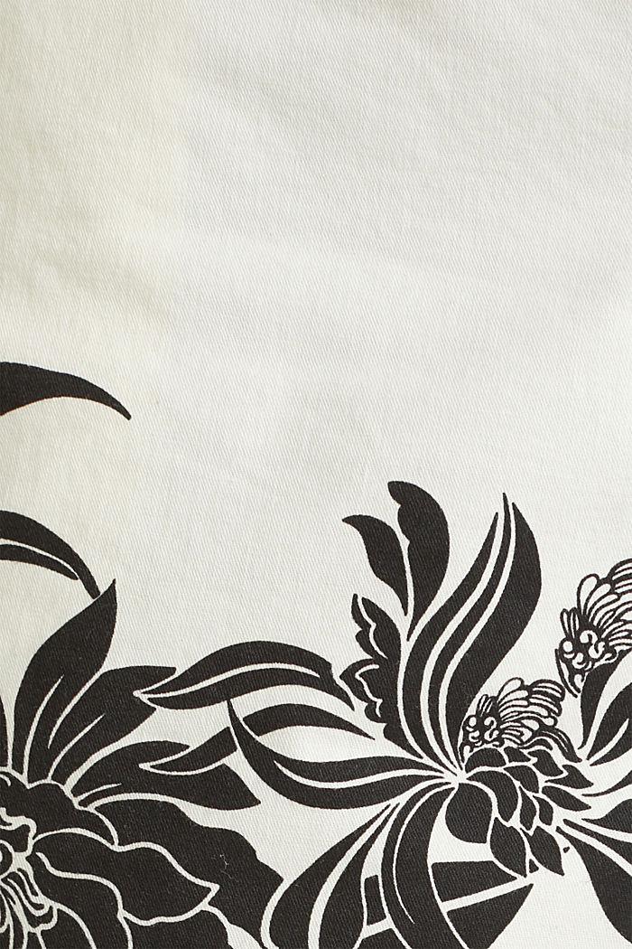 Chino-Shorts mit Lycra xtra life™, WHITE, detail image number 3