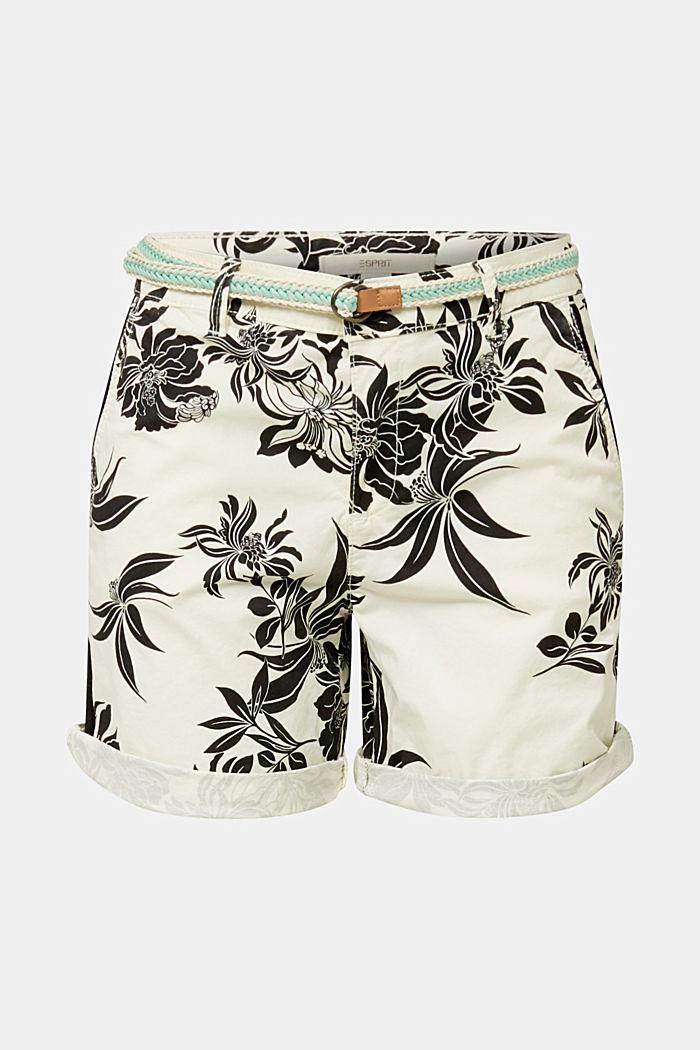 Chino-Shorts mit Lycra xtra life™, WHITE, detail image number 7