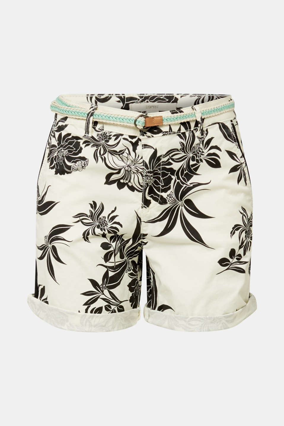 Chino shorts with Lycra xtra life™, WHITE, detail image number 7