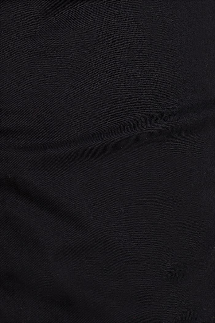 PLAY Baumwoll-Shorts, BLACK, detail image number 4