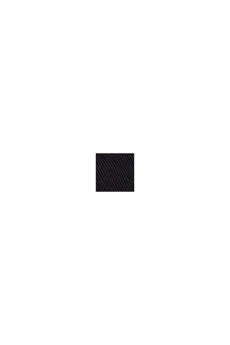 PLAY Shorts de algodón, BLACK, swatch