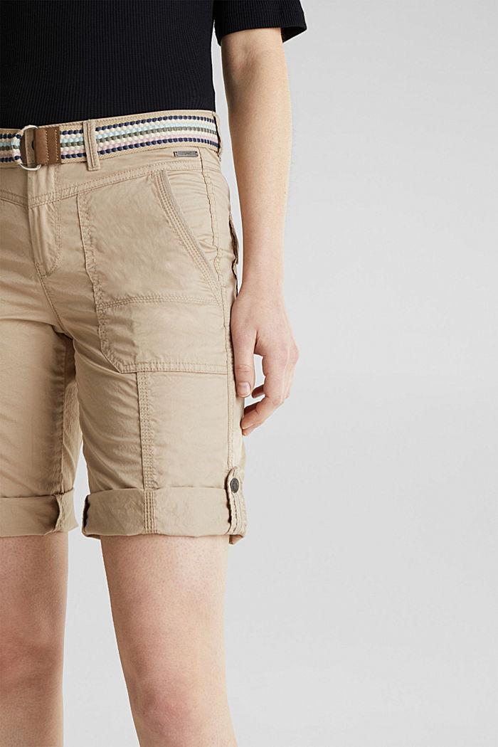 PLAY Baumwoll-Shorts, BEIGE, detail image number 2