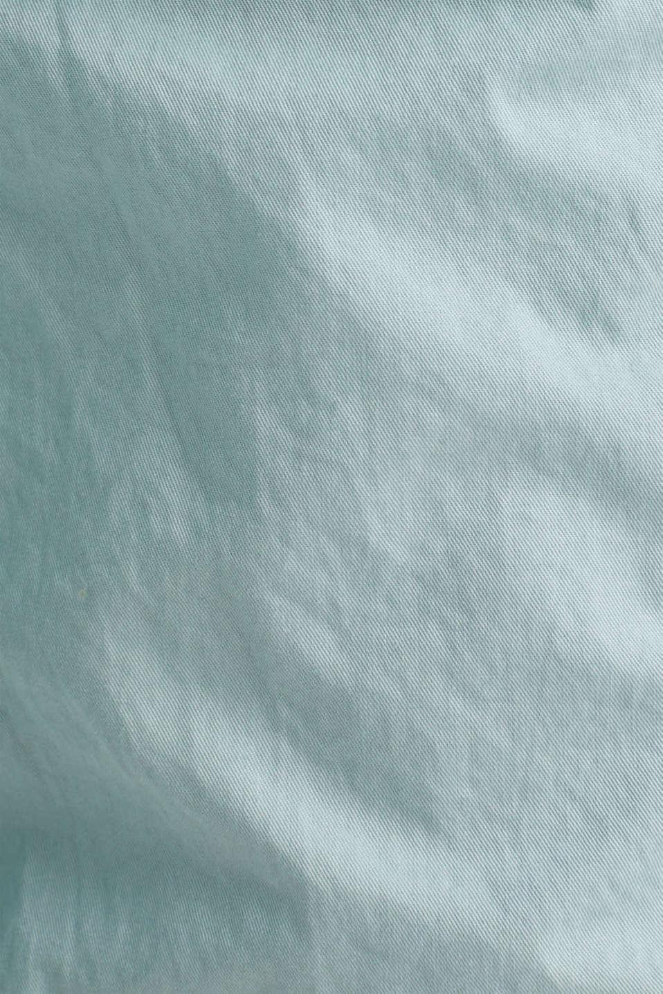 PLAY cotton shorts, LIGHT AQUA GREEN, detail image number 4