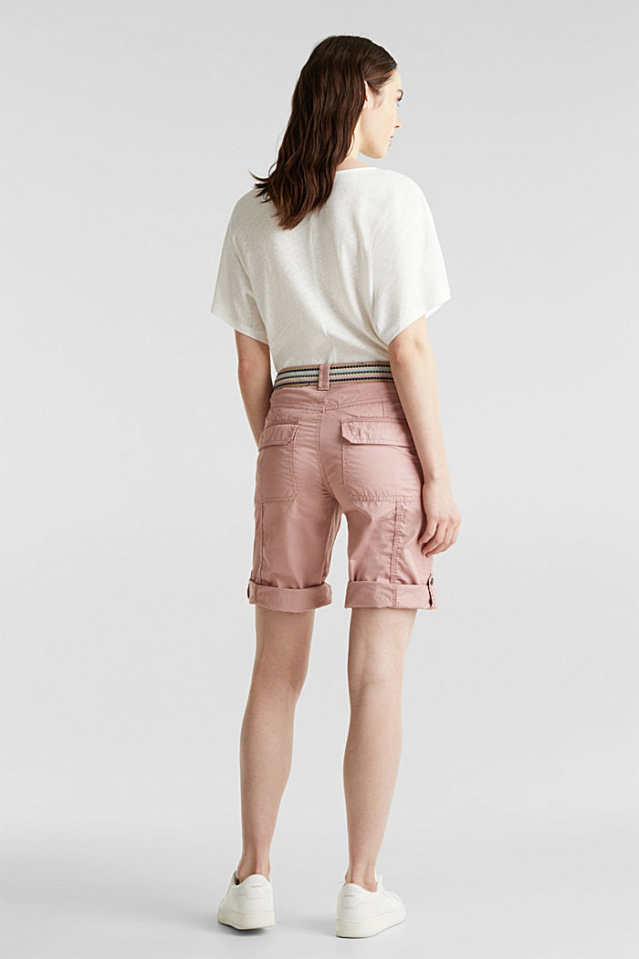 PLAY cotton shorts, OLD PINK, detail image number 3