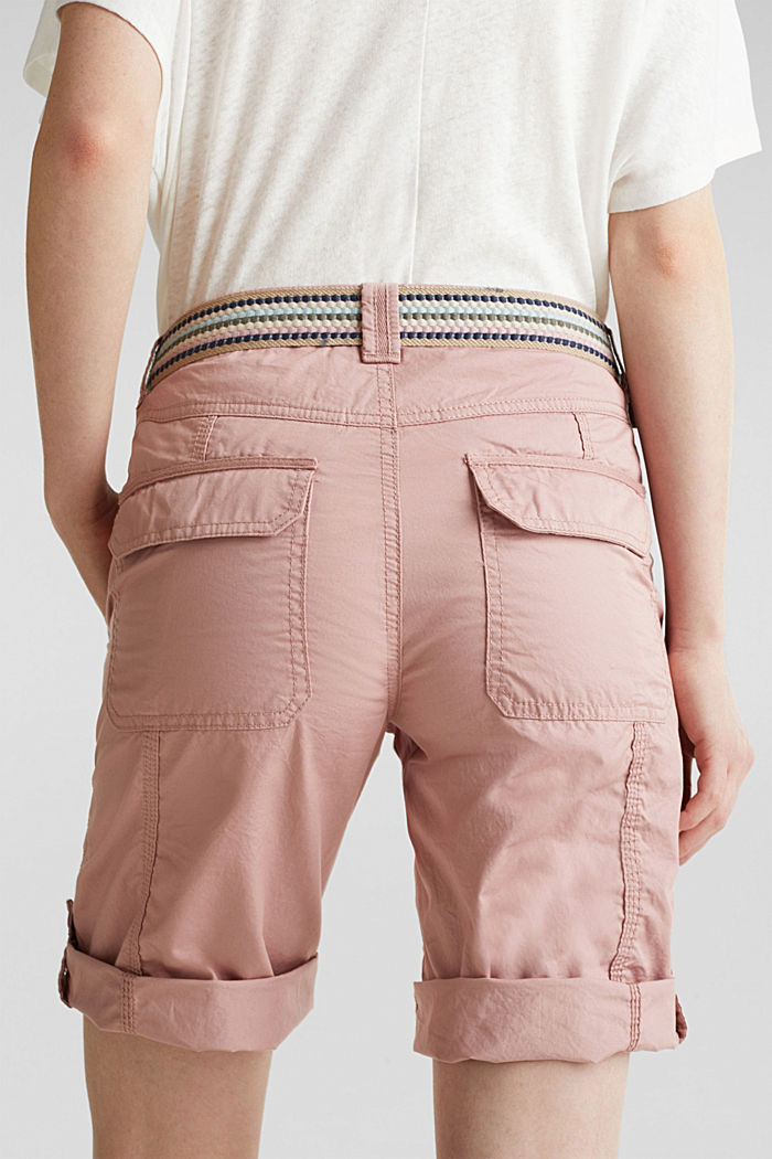PLAY cotton shorts, OLD PINK, detail image number 5