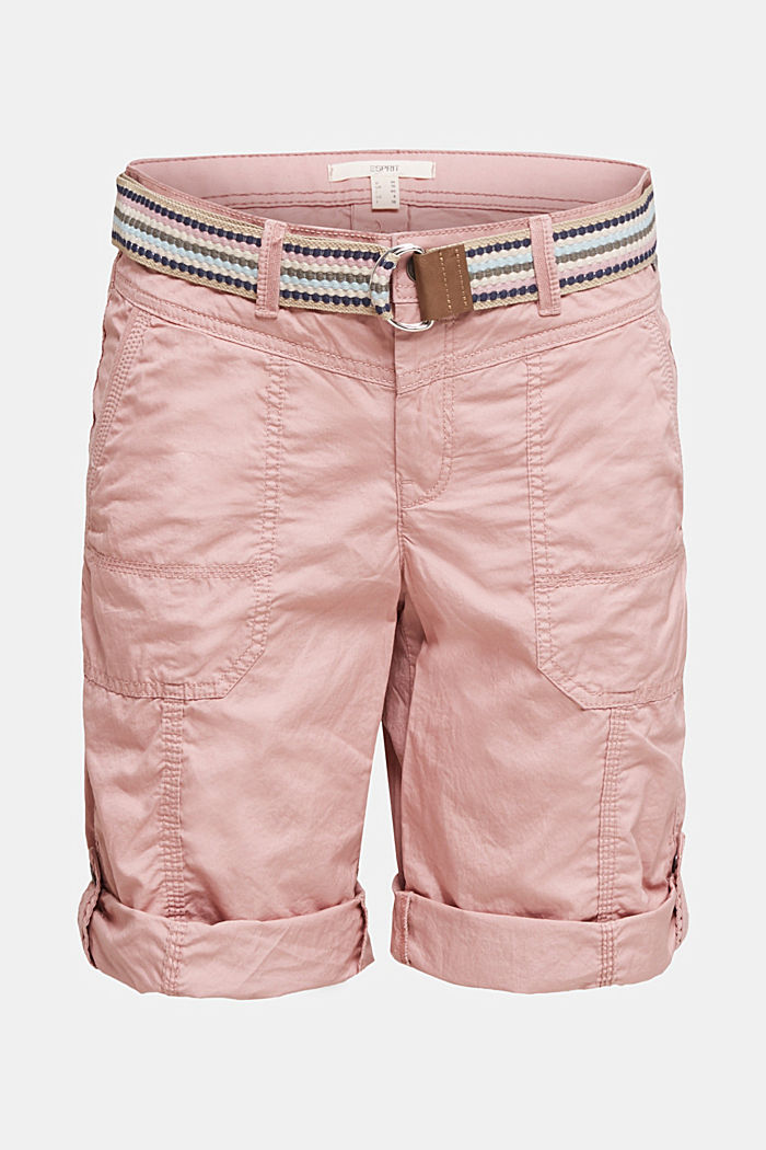PLAY cotton shorts, OLD PINK, detail image number 6