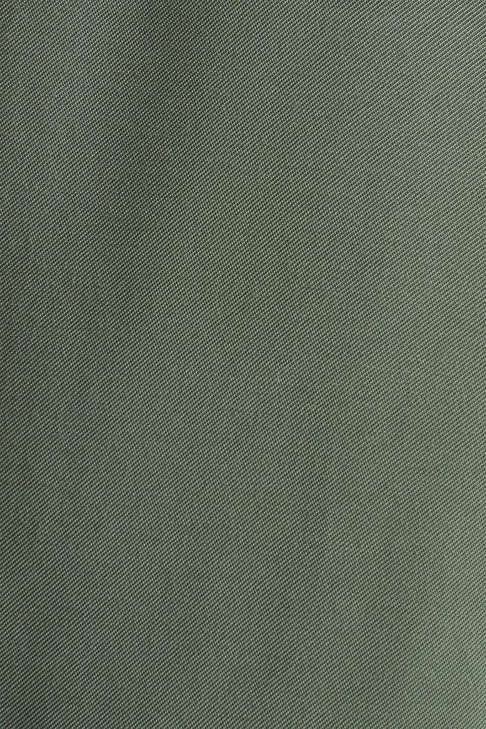 Rock-Shorts im Utility-Look, KHAKI GREEN, detail image number 3