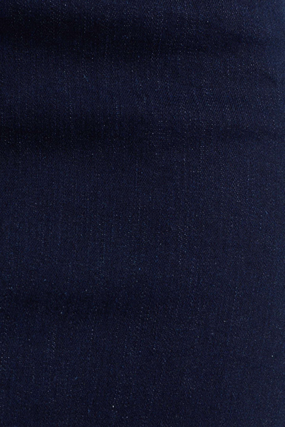 Denim skirt with stretch for comfort, BLUE RINSE, detail image number 3