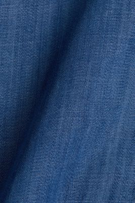 Made of TENCEL™: A-line denim skirt, BLUE MEDIUM WASH, detail