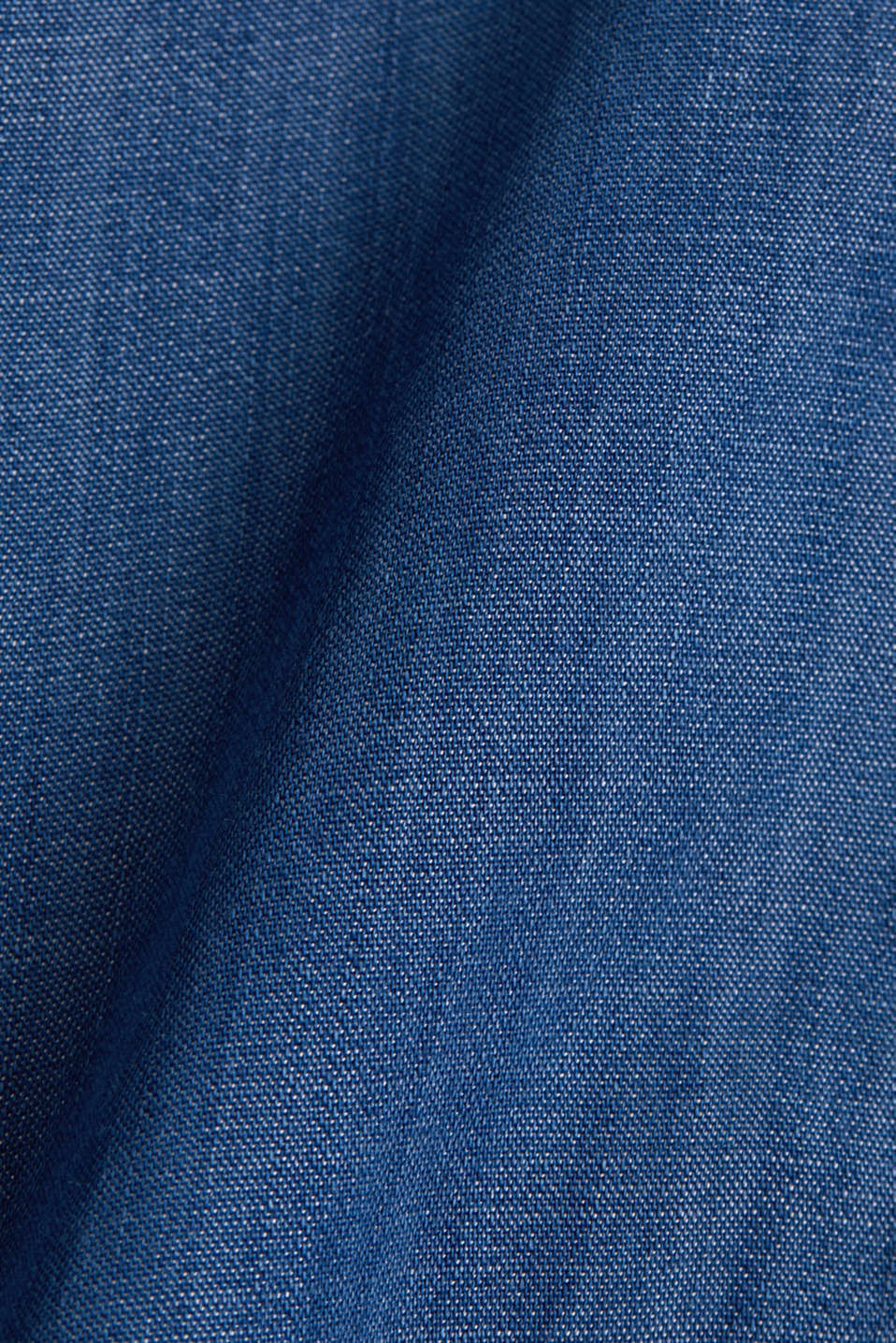 Made of TENCEL™: A-line denim skirt, BLUE MEDIUM WASH, detail image number 4