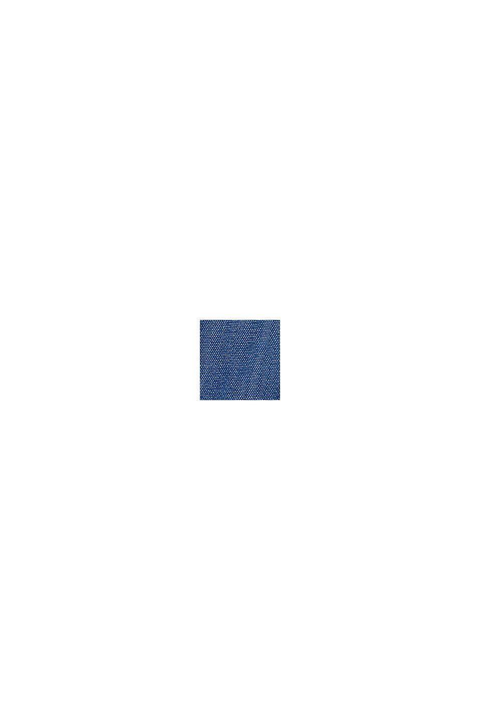 Van TENCEL™: denim rok in A-lijn, BLUE MEDIUM WASHED, swatch