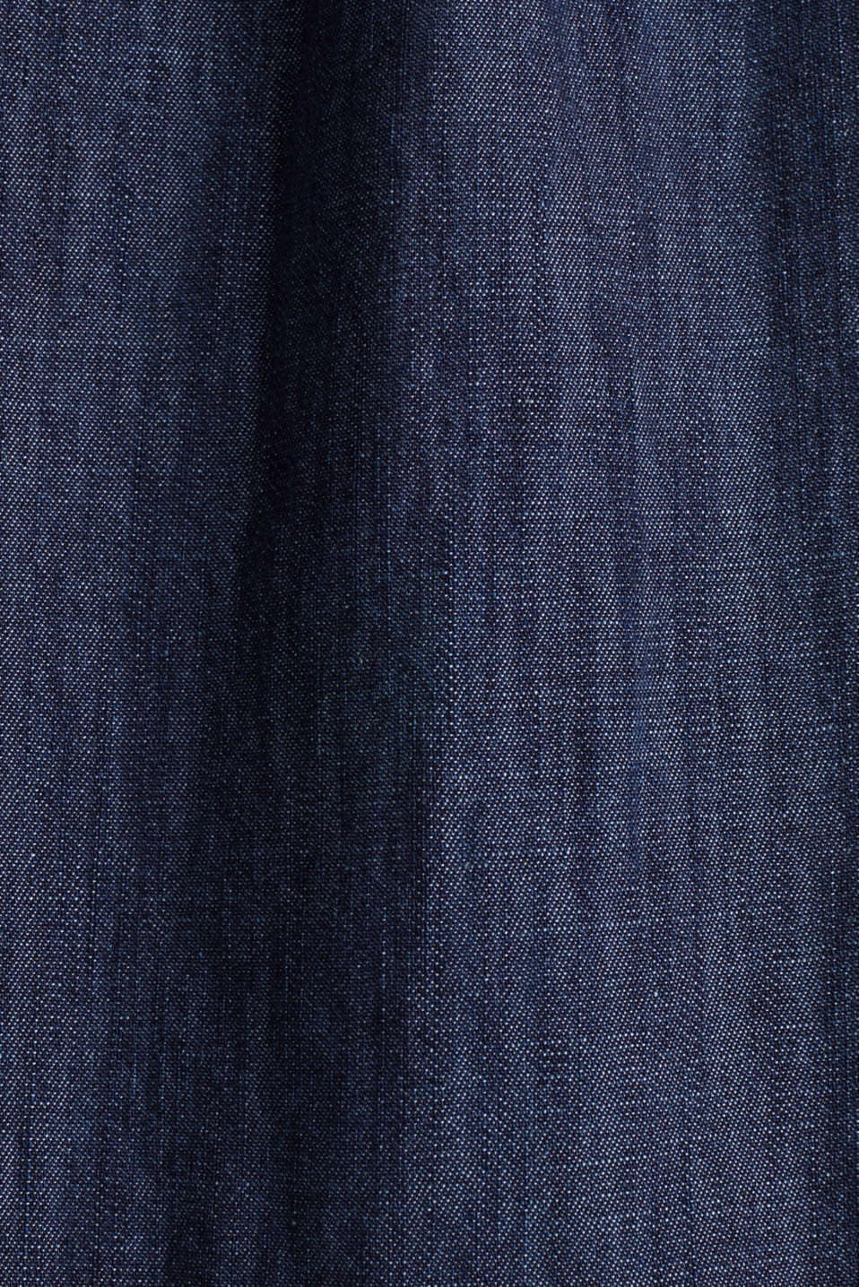Denim tent dress made of 100% cotton, BLUE RINSE, detail image number 3