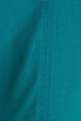 Made of TENCEL™: Dress with pockets, TEAL GREEN, detail
