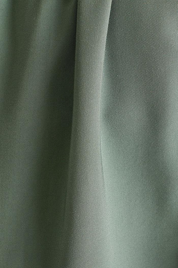Vestido midi en estilo militar, KHAKI GREEN, detail image number 2