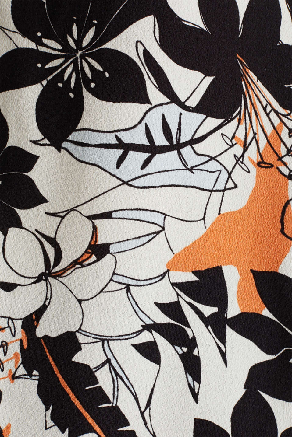 Blouse made from LENZING™ ECOVERO™, OFF WHITE 4, detail image number 4
