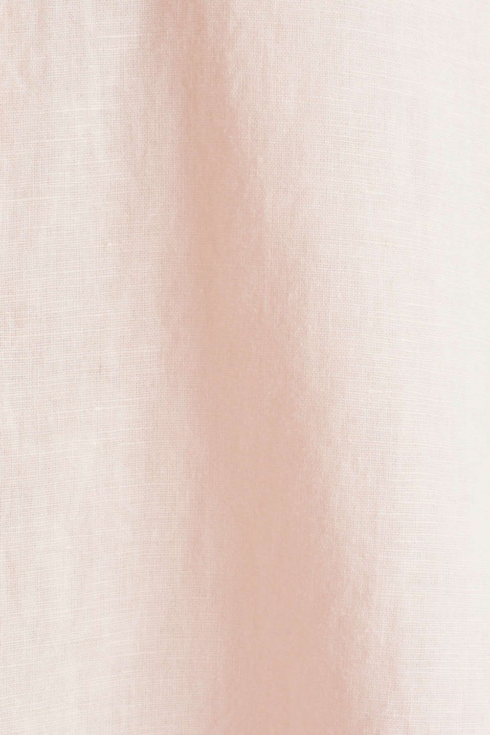 Linen blend: simply styled blouse, LIGHT PINK, detail image number 4