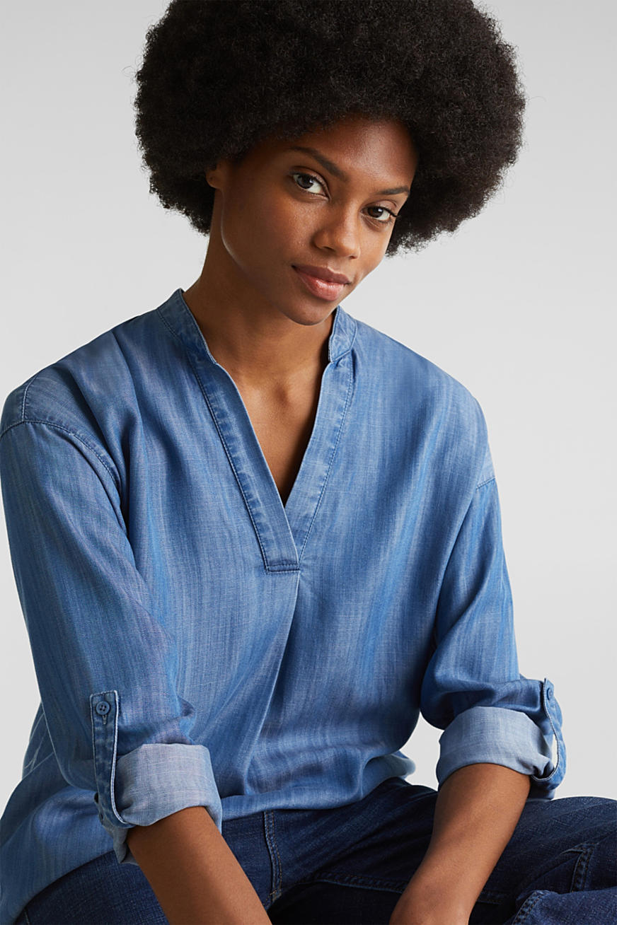 Van TENCEL™: denim blouse