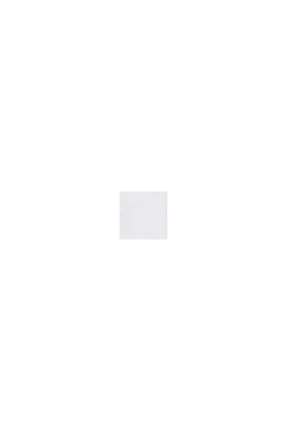 Aus Leinen-Mix: lässige Hemdbluse, WHITE, swatch