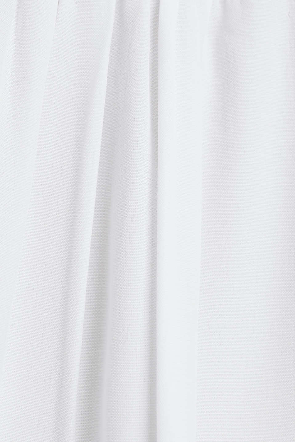 Blouse with frills and smocked details, WHITE, detail image number 3