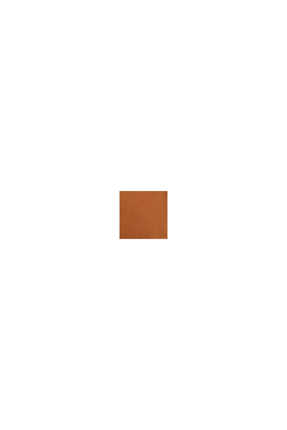 Lässiger Trenchcoat aus Lyocell-Mix, TOFFEE, swatch