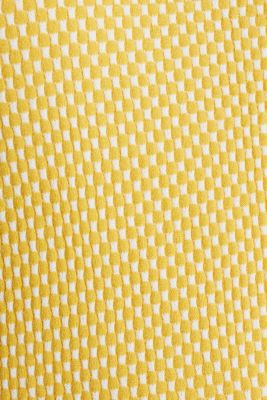 Short sleeve jumper with LENZING™ ECOVERO™, YELLOW 4, detail