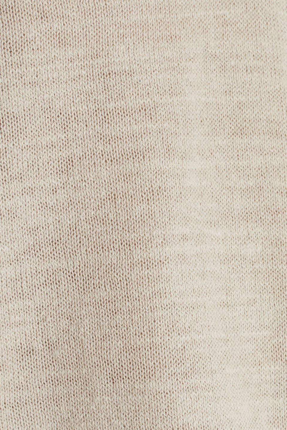 Hooded jumper with linen, BEIGE, detail image number 4