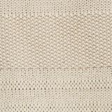 Blended linen: jumper with an open-work pattern, SAND, swatch