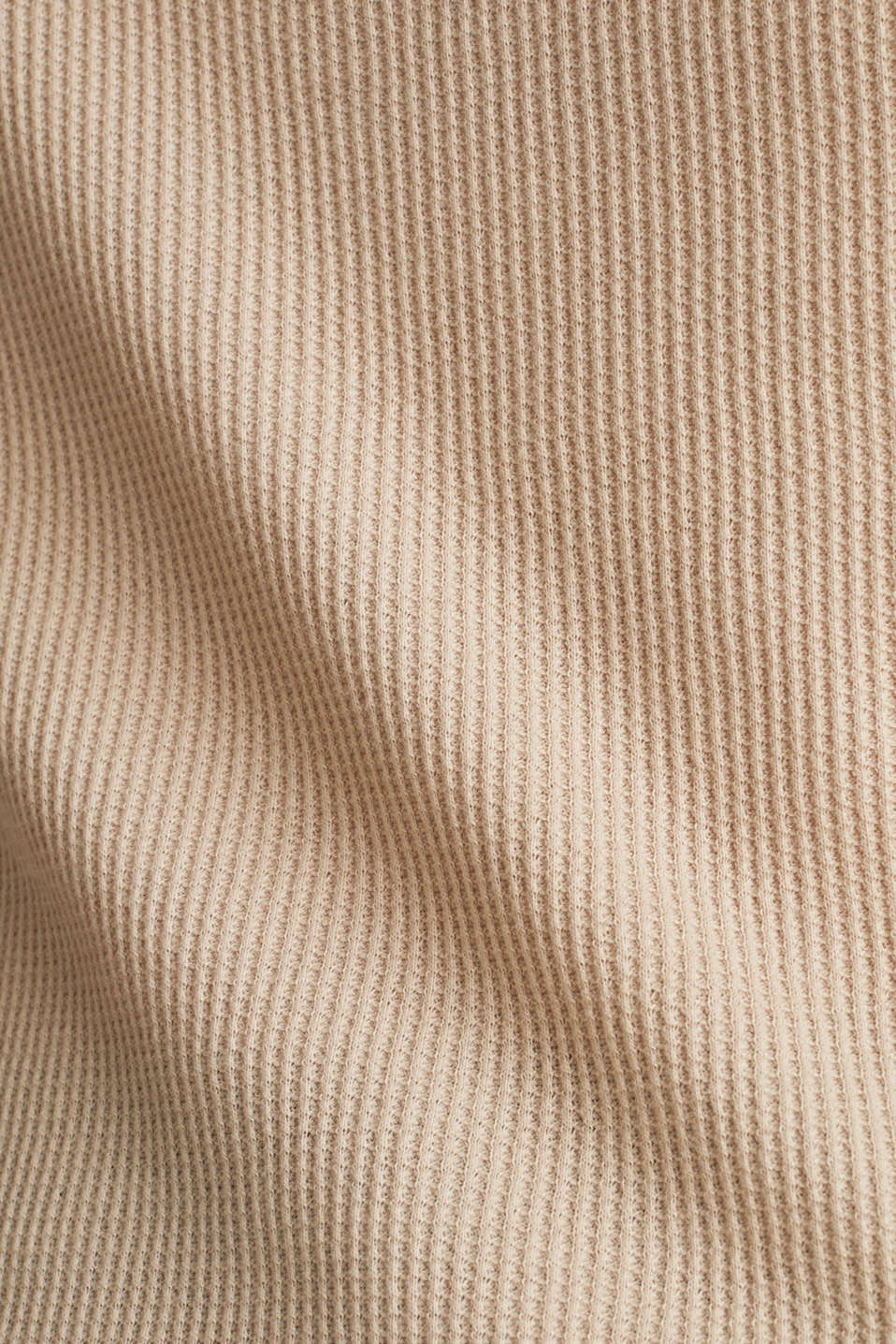 Textured top ,100% organic cotton, BEIGE, detail image number 4