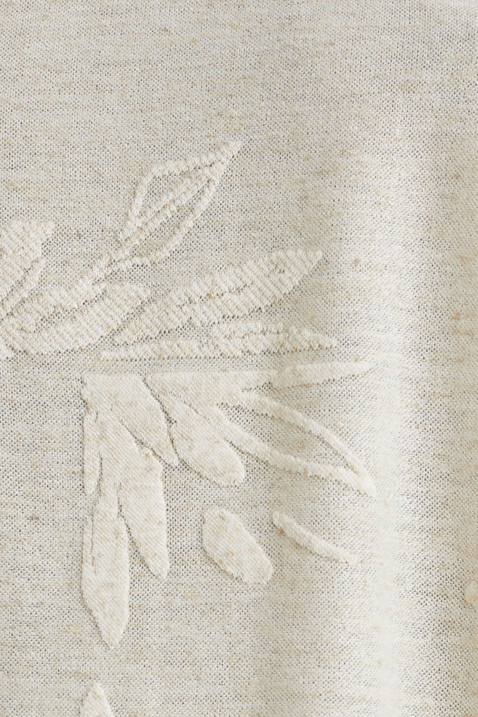 Blended linen: burnt-out top, ICE, detail image number 4