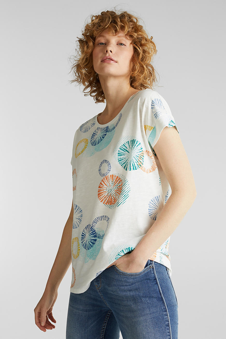 Print-Shirt aus 100% Organic Cotton