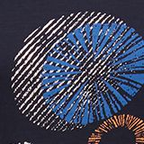 Printed T-shirt in 100% organic cotton, NAVY, swatch