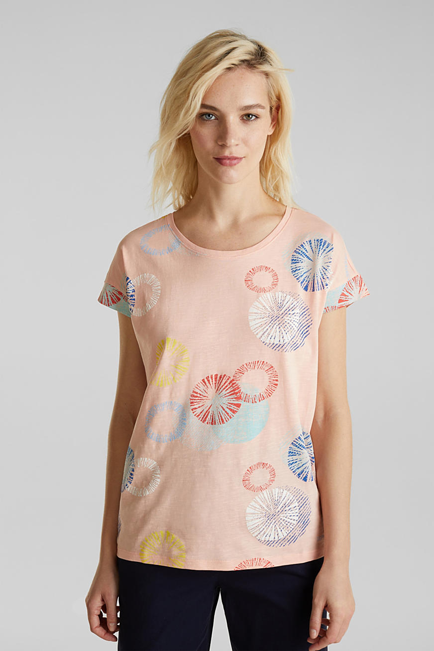 Shirt met print, van 100% organic cotton