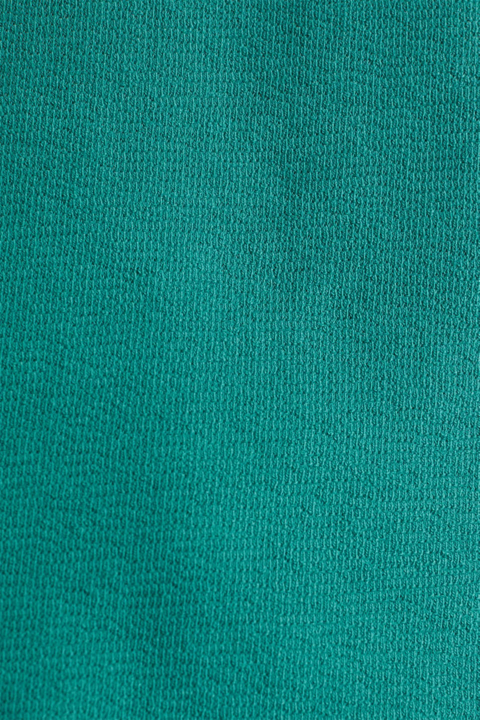 Top with buttons, 100% cotton, TEAL GREEN, detail image number 4