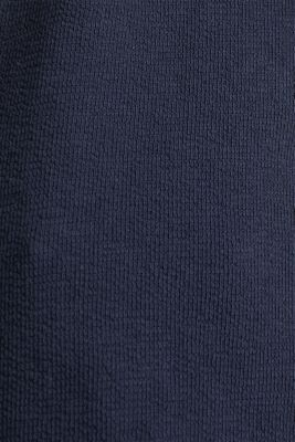 Top with buttons, 100% cotton, NAVY, detail