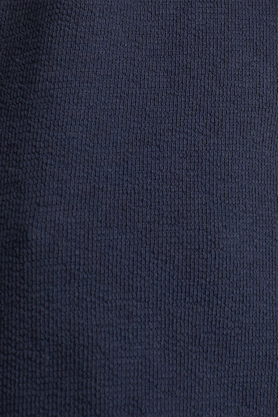 Top with buttons, 100% cotton, NAVY, detail image number 4