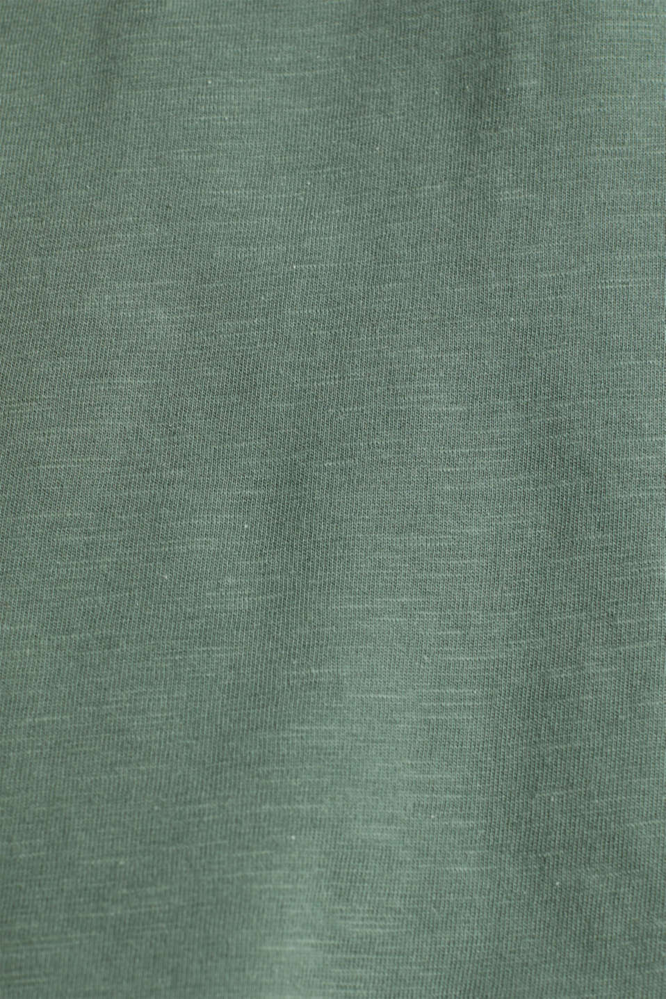 Broderie anglaise top, 100% cotton, KHAKI GREEN, detail image number 3
