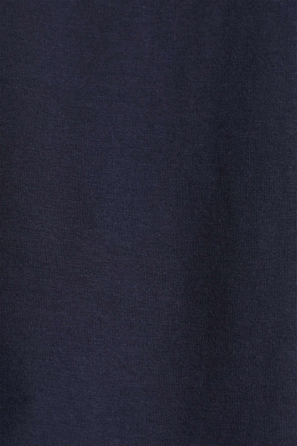 Top with lace shoulders, NAVY, detail image number 4