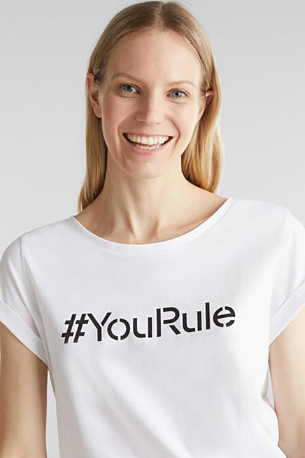 esprit t-shirt damen gestreift koralle online