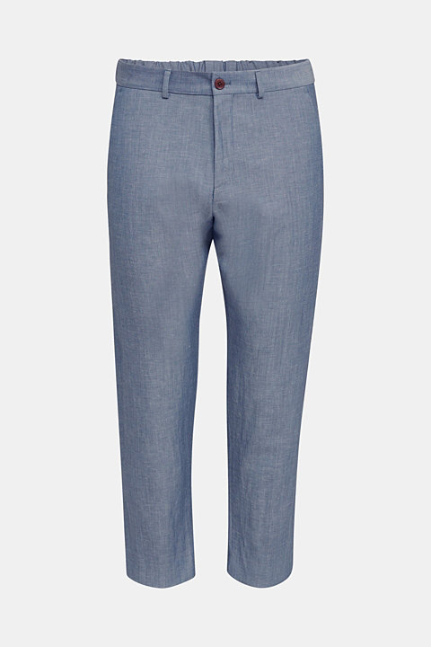 Blended linen: JOGG SUIT mix + match: trousers