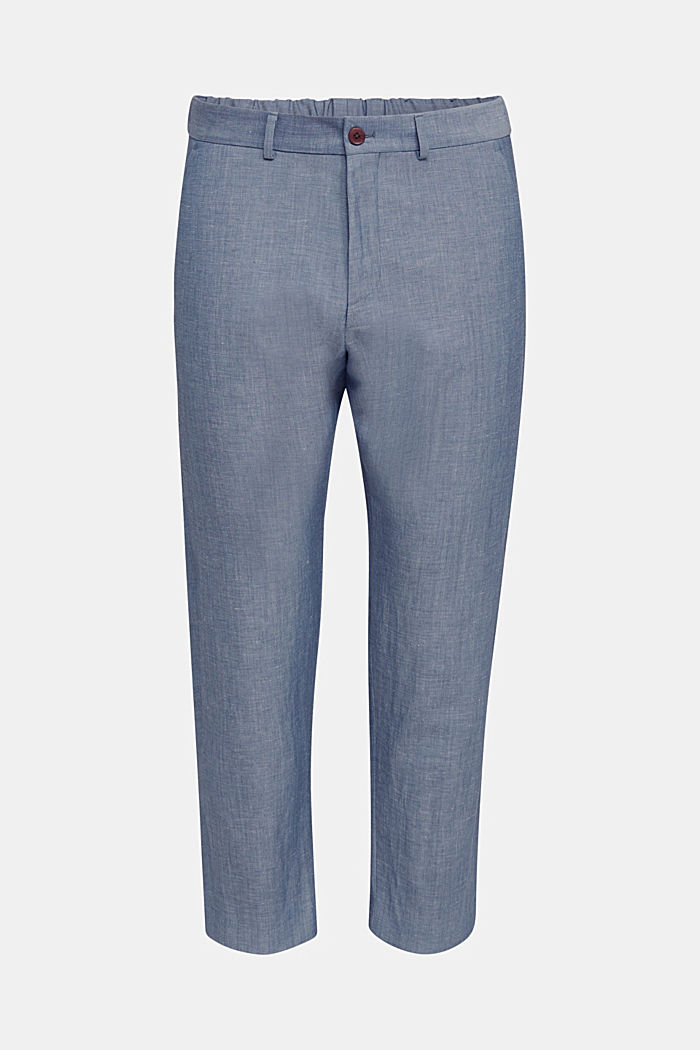 Met linnen: JOGG SUIT mix + match: broek, BLUE, detail image number 5