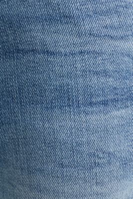 Premium jeans with whiskering, BLUE LIGHT WASH, detail