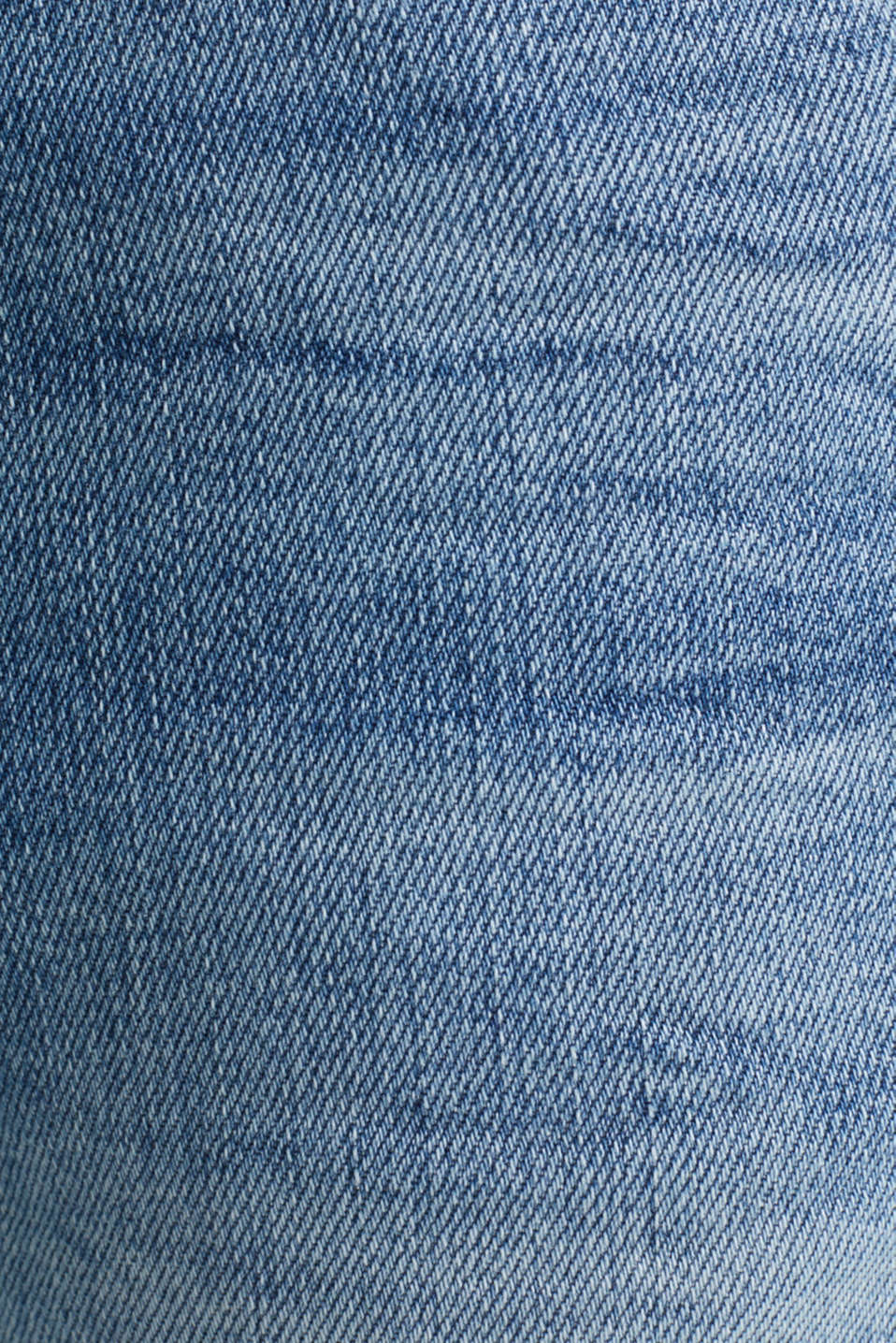 Premium jeans with whiskering, BLUE LIGHT WASH, detail image number 4